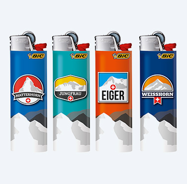BIC® MAXI LIGHTERS SWISS MOUNTAINS SERIES